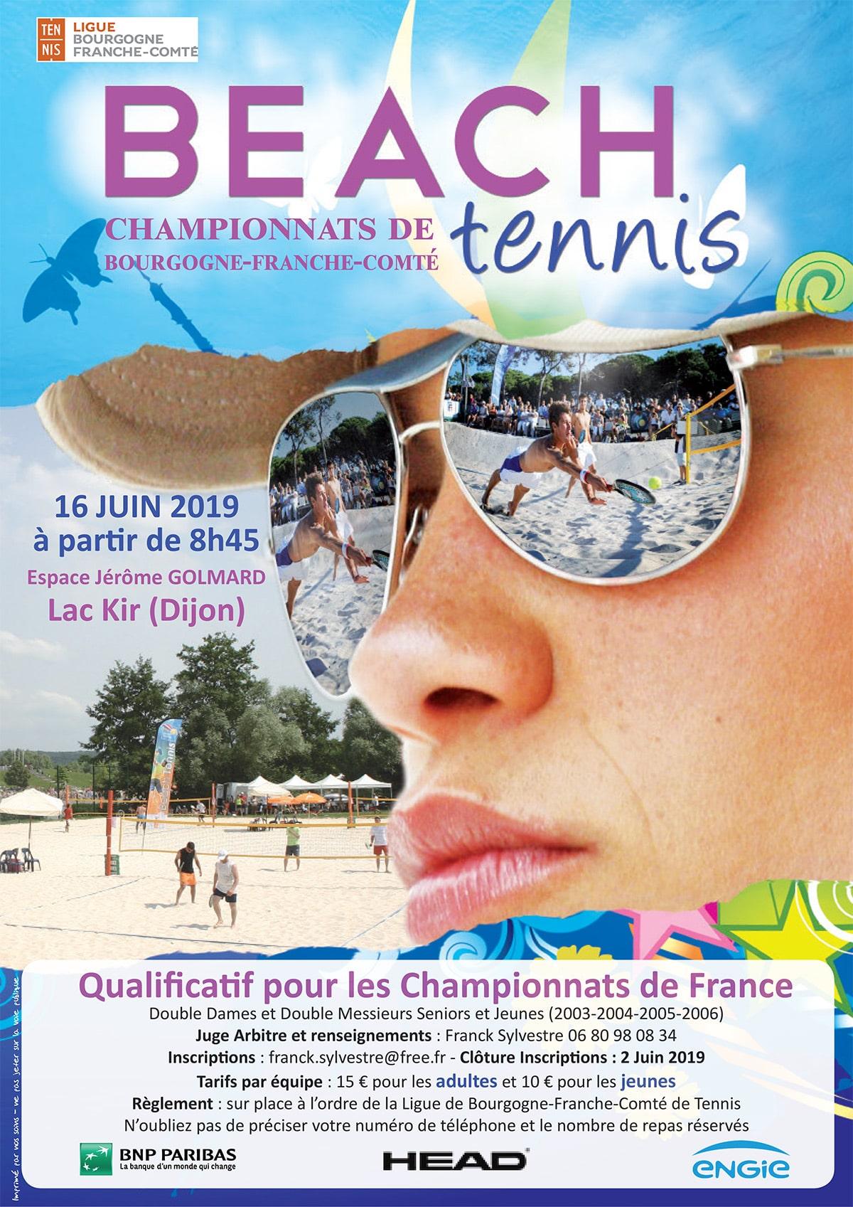 Affiche Beach Tennis