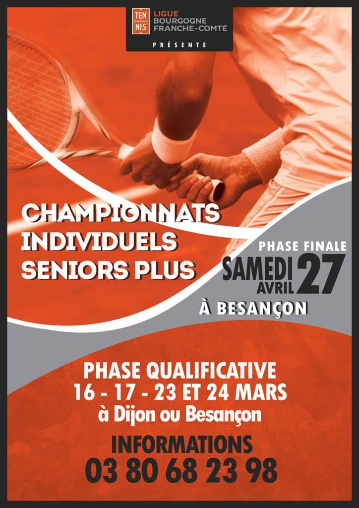 Affiche Championnats Individuels Seniors Plus