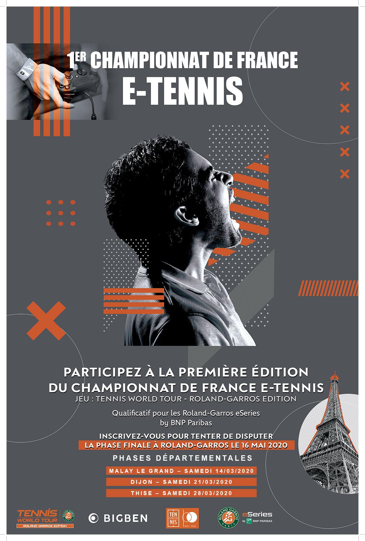 E Tennis Phase Départementale 2020
