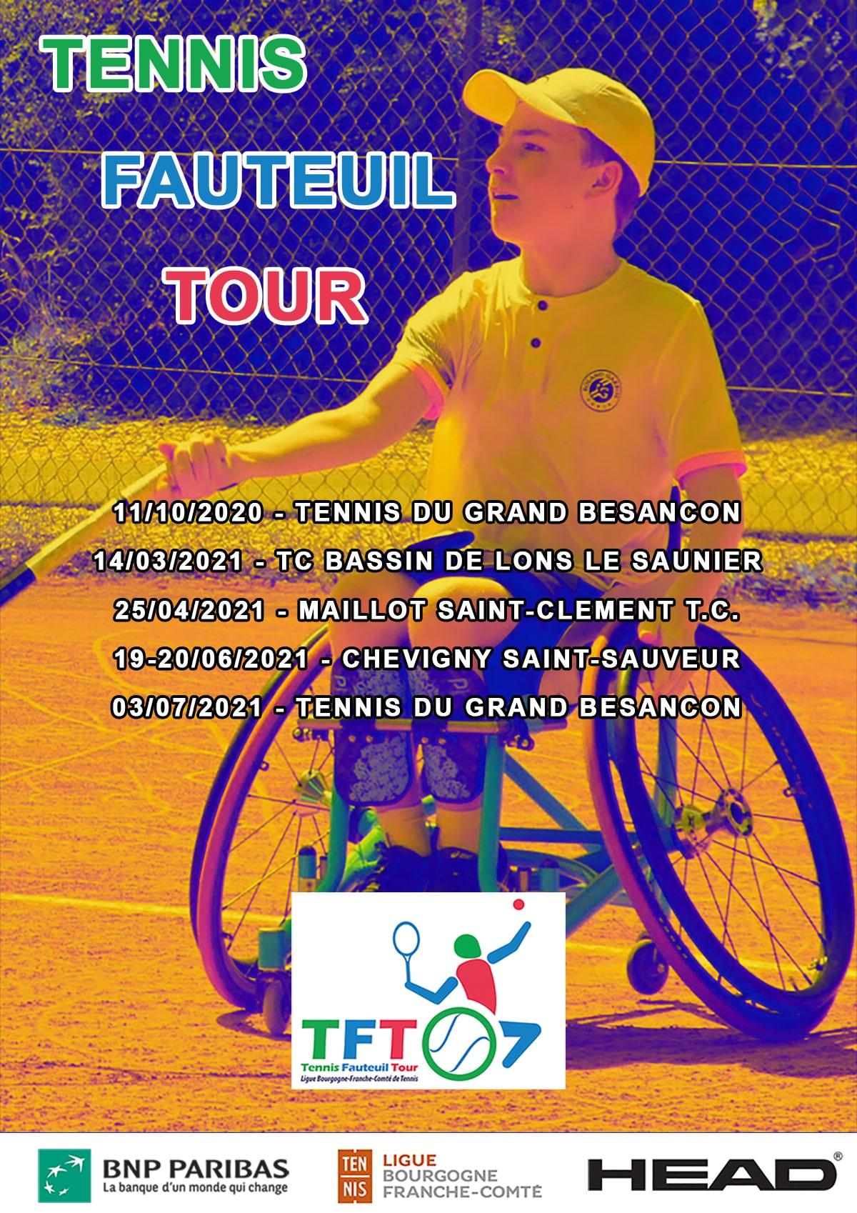 Tennis Fauteuil Tour : Ligue Bourgogne-Franche-Comté de Tennis