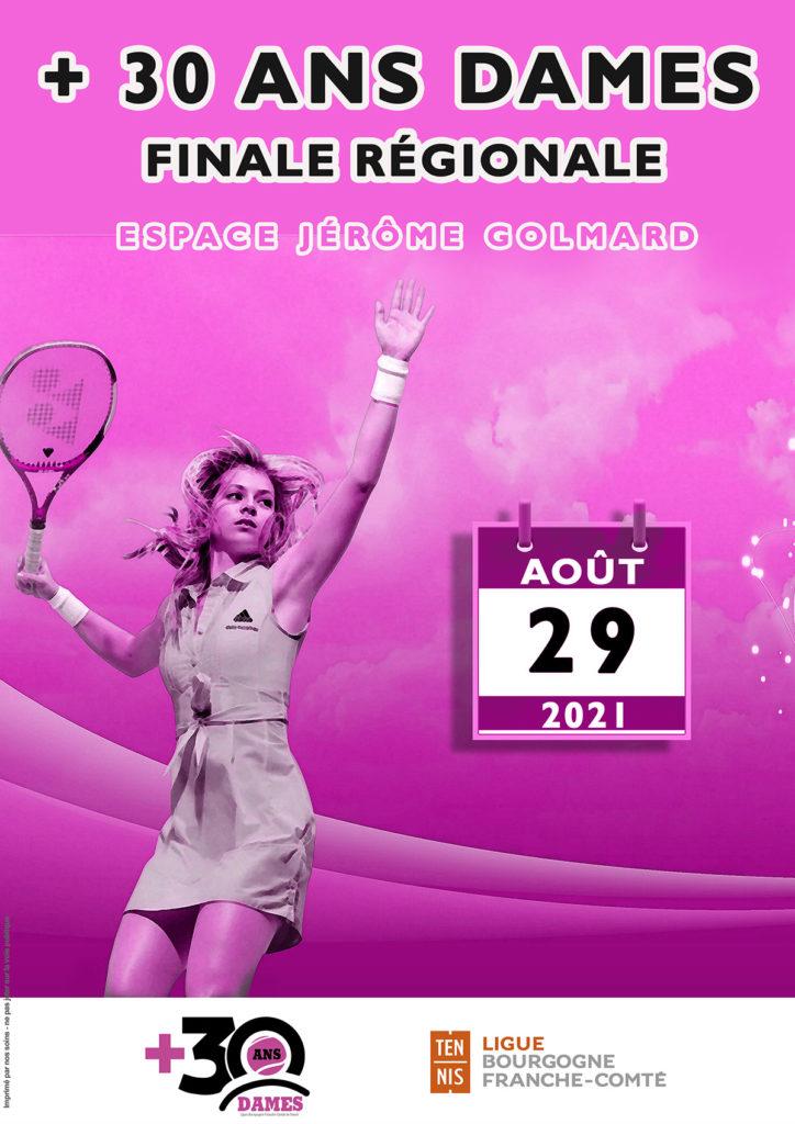+ 30 Ans Dames 2021 : Ligue BFC Tennis