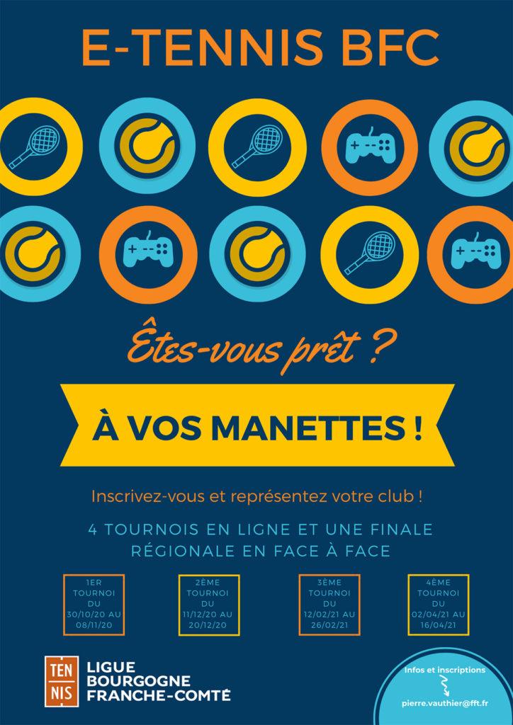 E Tennis 2021 : Ligue BFC Tennis