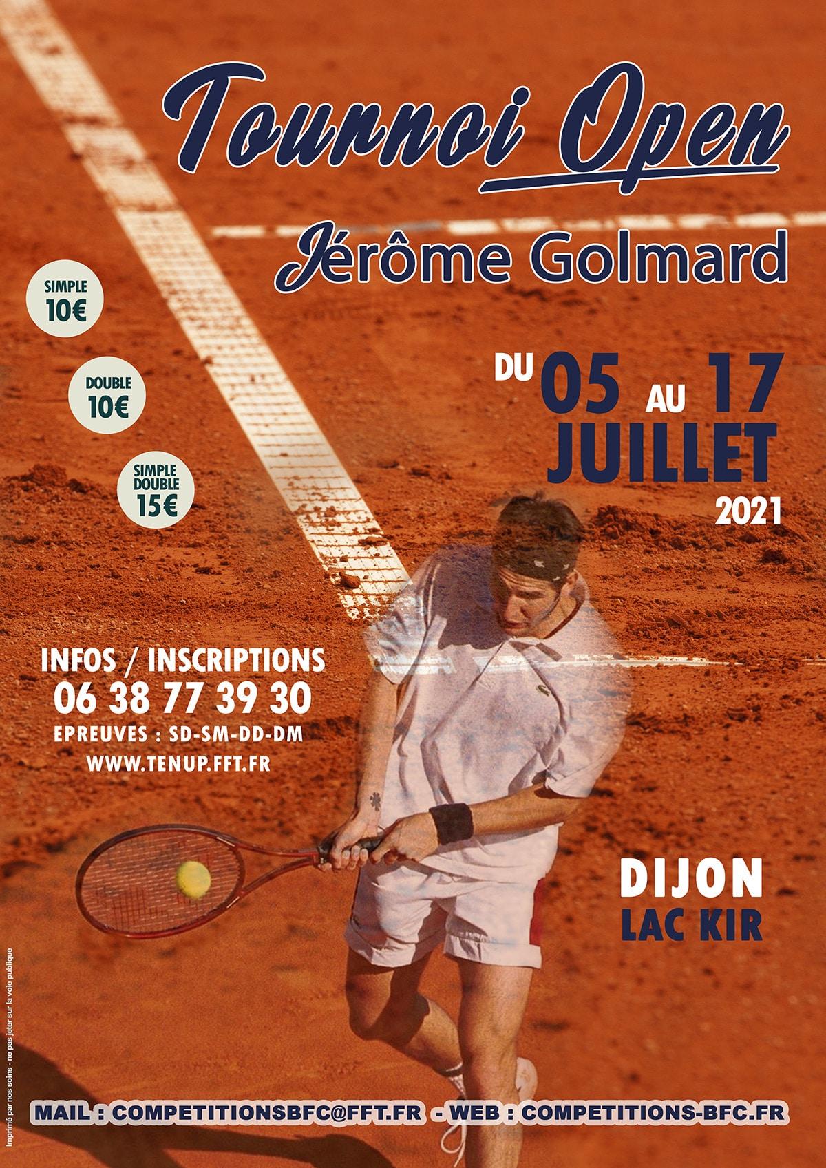 Tournoi Open Jérôme Golmard 2021