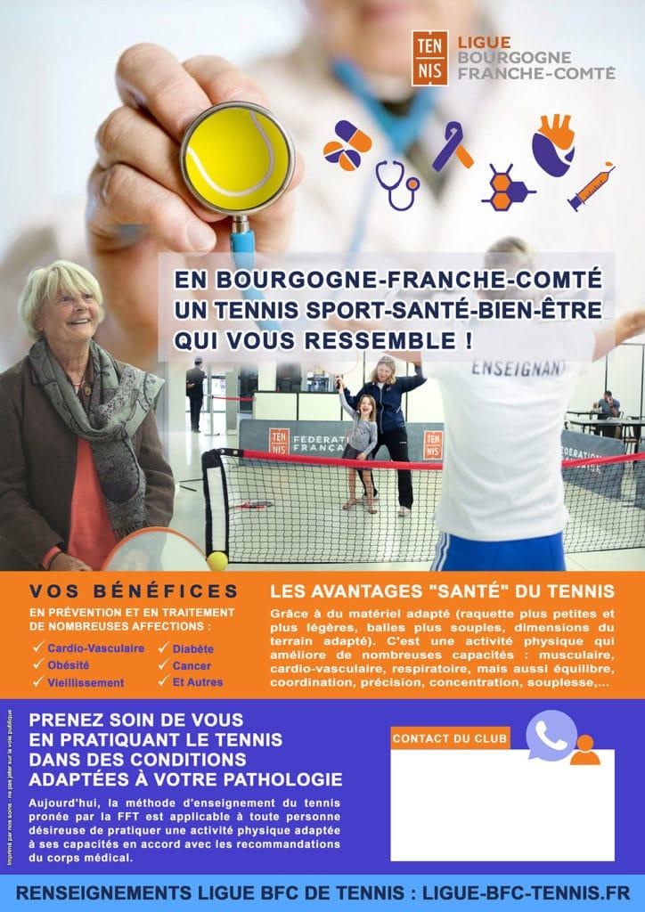 Modèle Clubs Sport Santé Bien-Être : Ligue BFC Tennis