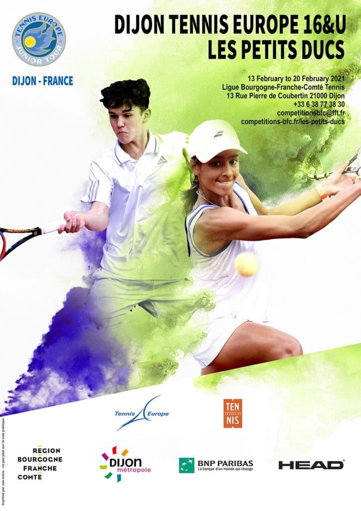 Affiche Petits Ducs 2021 Tennis Europe