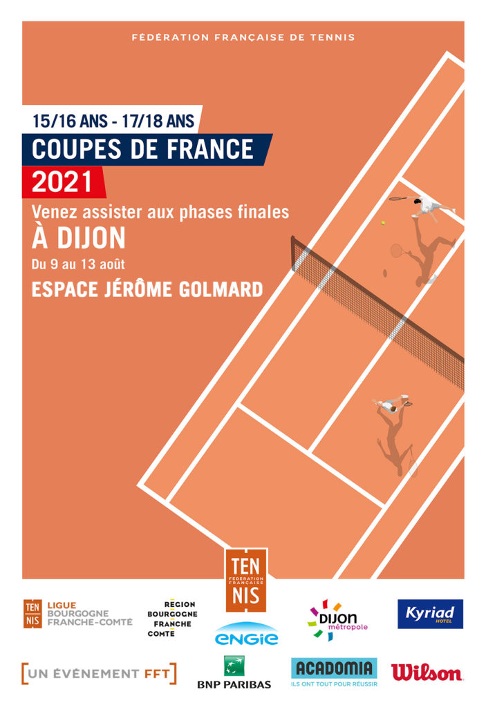 Coupe de France 15/16 et 17/18 ans : Ligue BFC de Tennis